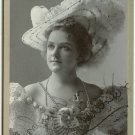 Autographed Pach Bros. Cabinet Card of Della Fox