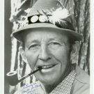 Autographed Silver Photo of Bing Crosby