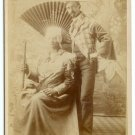 Man in Drag Cabinet Card
