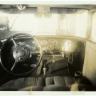 Automobile Interior Silver Photograph