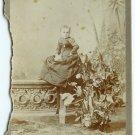 Midget by Eisenmann Cabinet Card