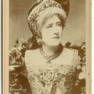 Ellen Terry by Newsboy Cabinet Card