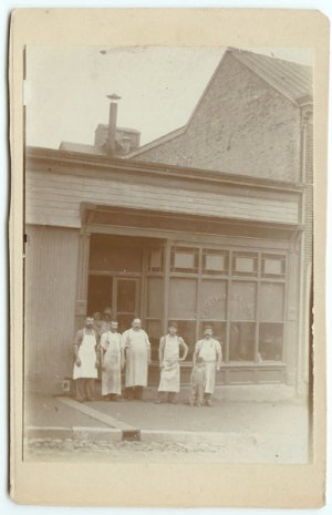Butchers Cabinet Card