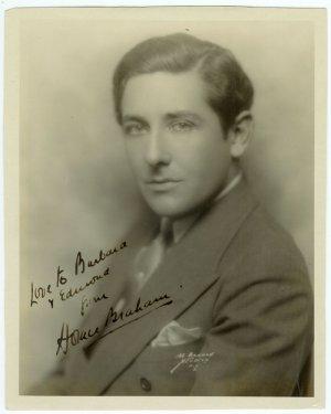 Autographed Horace Braham Silver Photograph