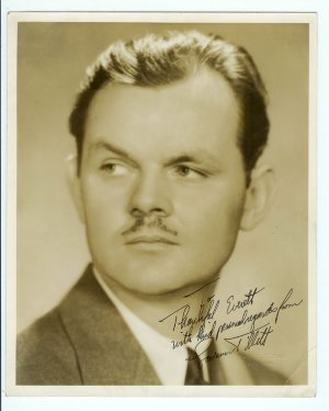 Autographed Lawrence Tibbett Photograph