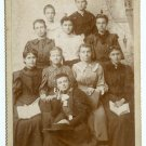 Ten Women Cabinet Card - Could Be Bookclub