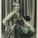 Ruth Haya Autographed Silver Photograph