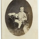 Boy with a Drum and Whip CDV