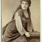 CDV of Actress Kate Girard by Sarony