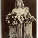 Autographed Julie Gross by Hoffert Cabinet Card