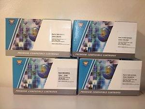 Premium Compatible Cartridges C9700A, C9701A, C9702A, C9703A HP Printer