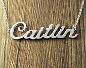 Personalized Silver Namecharm
