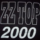 ZZ Top T-Shirt 2000 Millenium Black Size XL