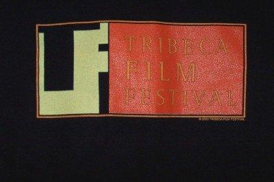 Tribeca Film Festival T-Shirt Black Size Medium