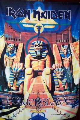 Iron Maiden Poster Flag Powerslave Tapestry