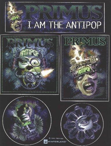 Primus 5 Sticker Set I Am The Antipop