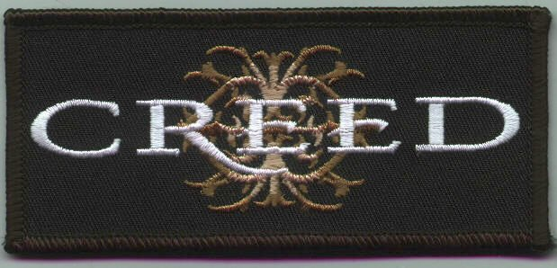 Creed Iron-On Patch Crest Logo
