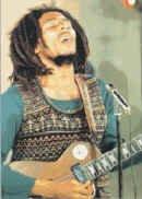 Bob Marley Poster Flag Live Les Paul Guitar Tapestry