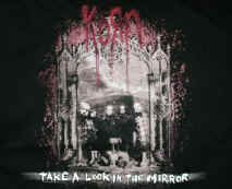 Korn T-Shirt Take a Look in the Mirror Black Size XXXL
