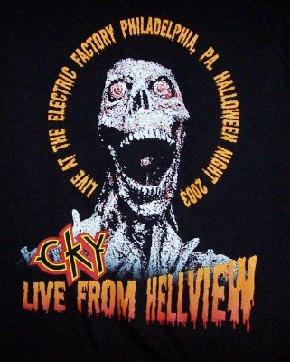 CKY T-Shirt Live From Hellview Black Size XL