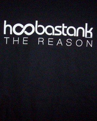Hoobastank T-Shirt The Reason Black Size XL CLEARANCE