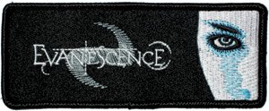 Evanescence Iron-On Patch Eye Logo