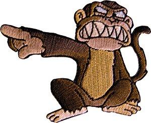 Family Guy Iron-On Patch Evil Monkey