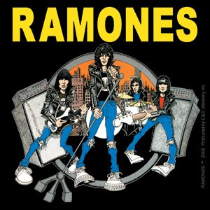 Ramones Vinyl Sticker Road to Ruin