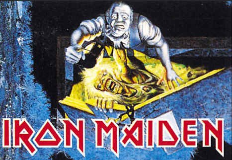 Iron Maiden Poster Flag No Prayer for the Dying