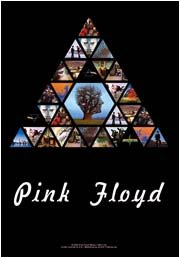 Pink Floyd Poster Flag Pyramid Tapestry