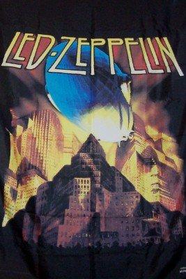 Led Zeppelin Poster Flag Metropolis Blimp Tapestry