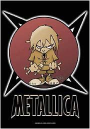 Metallica Poster Flag Ninja Bad Ass Tapestry