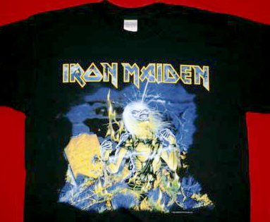 Iron Maiden T-Shirt Live after Death Black Size XXL