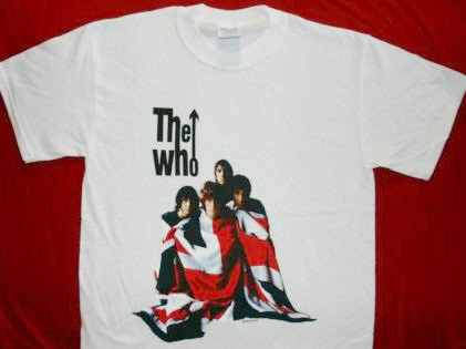 The Who T-Shirt The Kids are Alright White Size XL