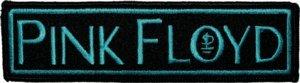 Pink Floyd Iron-On Patch Blue Logo