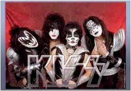 Kiss Poster Flag Group Photo Tapestry