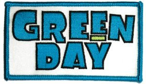 Green Day Iron-On Patch Block Logo