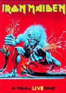 Iron Maiden Poster Flag Real Live One Tapestry