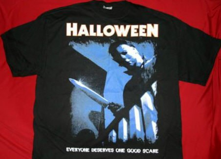 Halloween T-Shirt Good Scare Black Size Medium