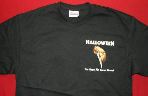 Halloween T-Shirt Michael Myers Black Size Medium