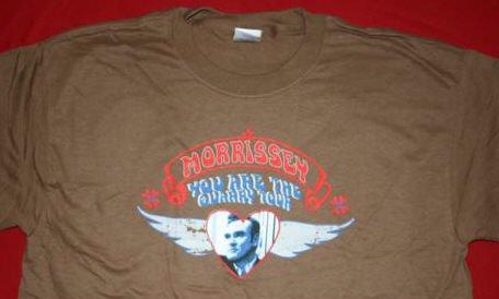 Morrissey T-Shirt Quarry Brown Size Medium