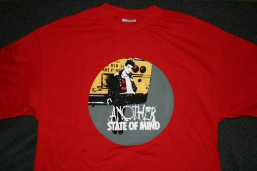 Social Distortion T-Shirt Another State of Mind Red Size Large