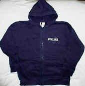 Nickelback Hoodie Sweatshirt World Tour Navy Blue Size Youth Large