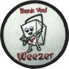 Weezer Iron-On Patch Chinese Take Out
