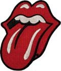 Rolling Stones Iron-On Patch Red Tongue Logo