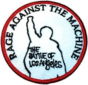 Rage Against The Machine Iron-On Patch Battle of Los Angeles