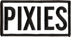 The Pixies Iron-On Patch Letters Logo