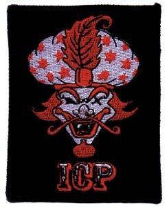 Insane Clown Posse Iron-On Patch Red Genie
