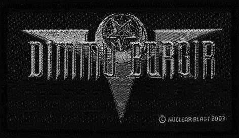 Dimmu Borgir Sew On Patch Death Cult Logo