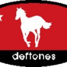 Deftones Iron-On Patch Oval Pony Logo